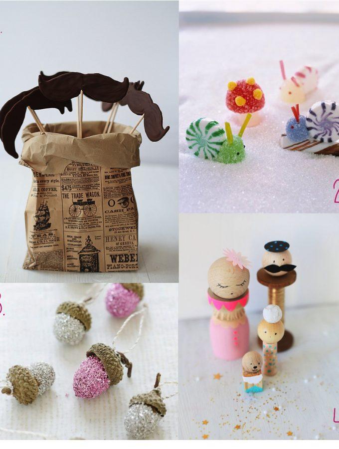 Festive kids crafts and treats