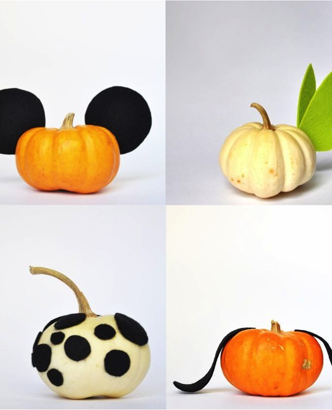 4 (no-carve) ways to decorate a pumpkin this Halloween