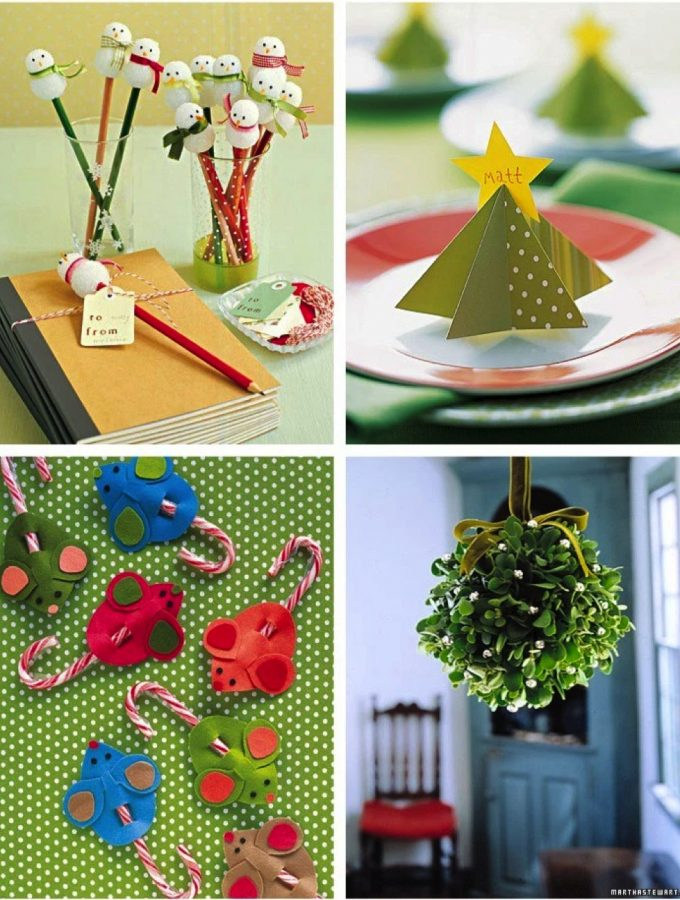 Merry Christmas + some cute Christmas crafts