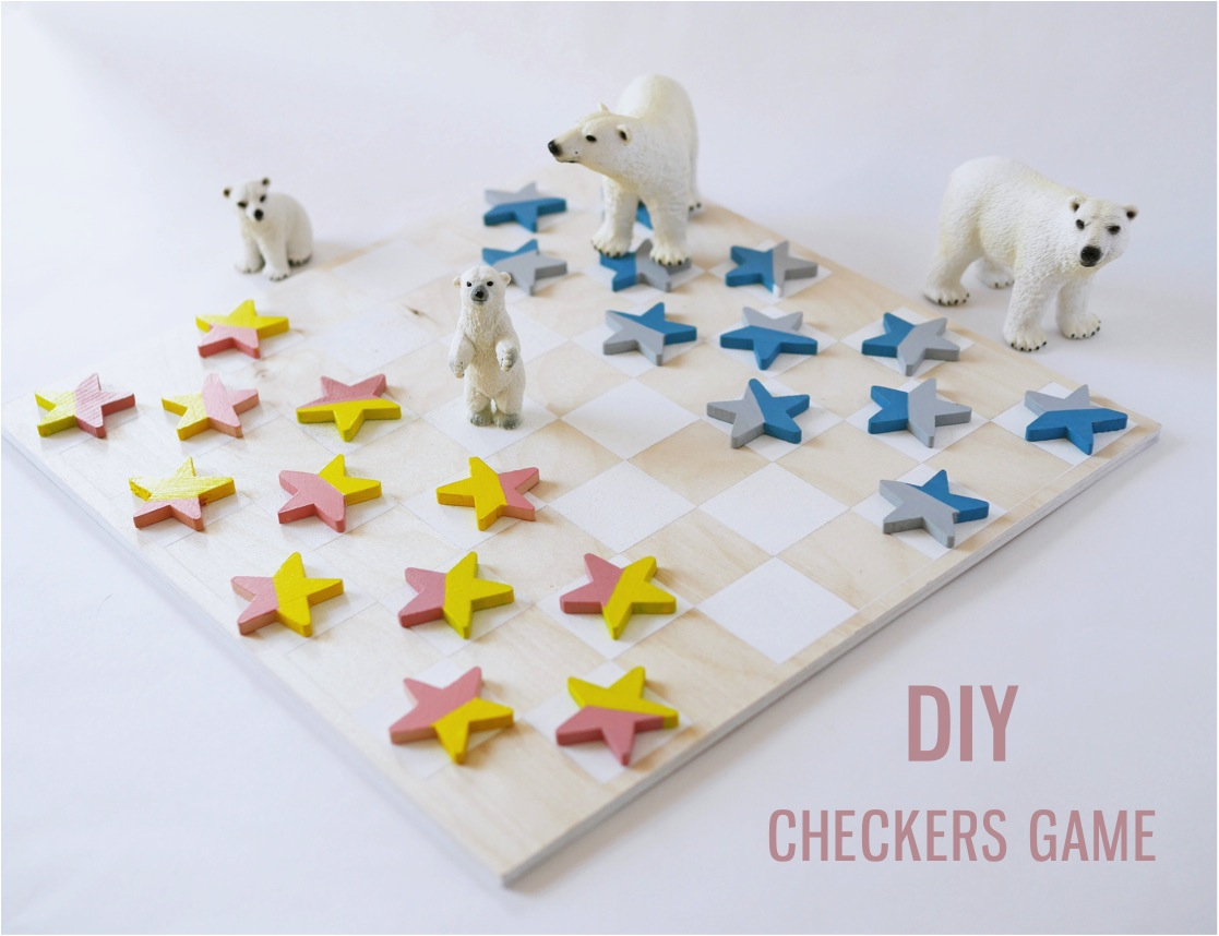 """""""DIY checkers game"""""""