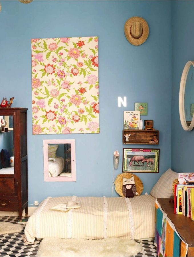 5 imaginative ways to use wallpaper