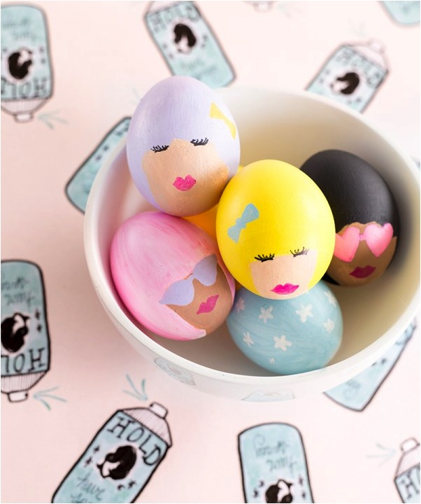 painted Easter egg ideas