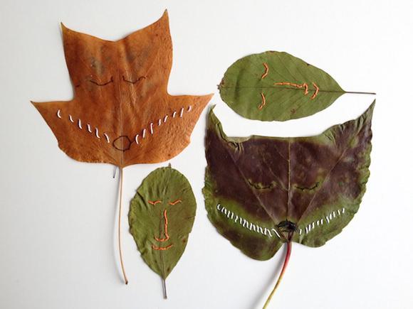 easy autumn leaf crafts