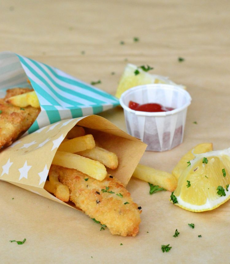 Easy Party Food Recipes: Mini Fish & Chips