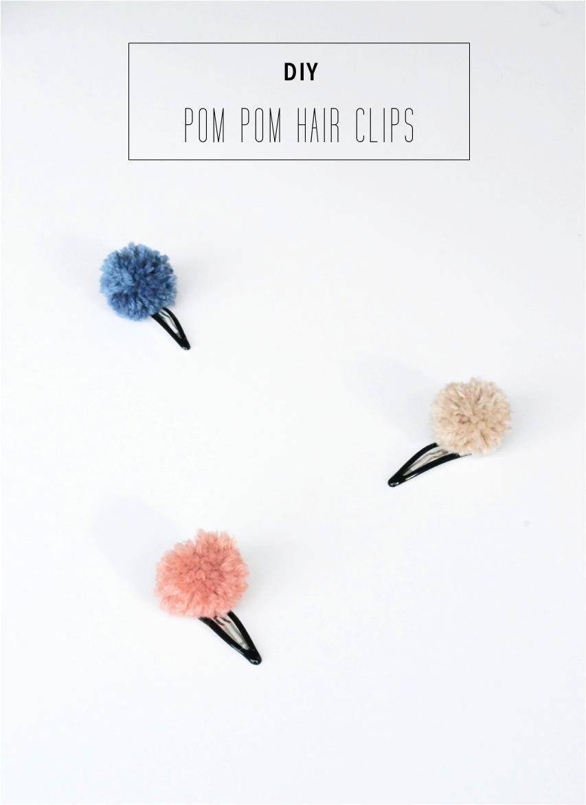 DIY-pom-pom-hair-clips1