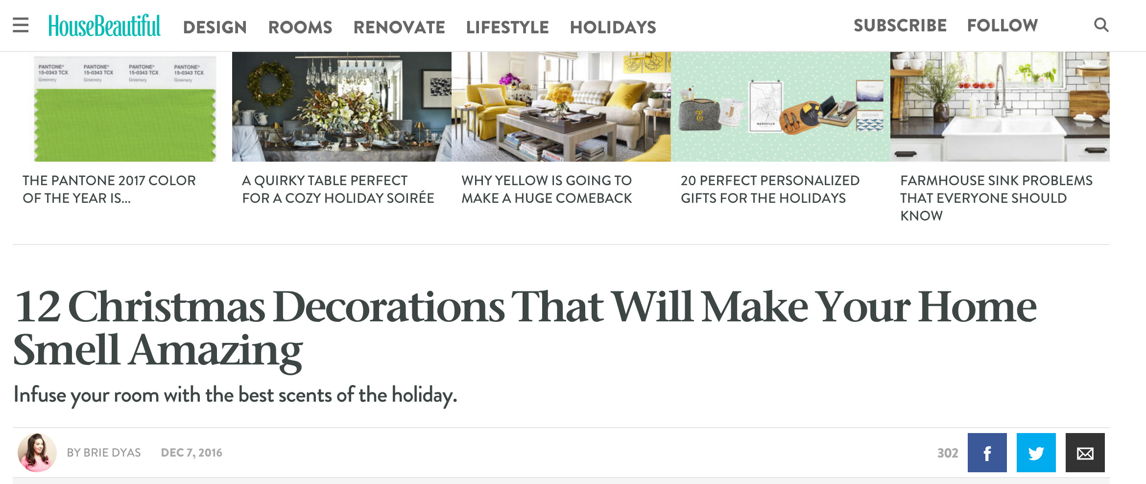 your DIY family featured in house beautiful