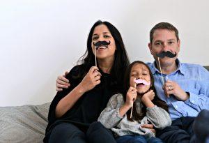 Nomita and family