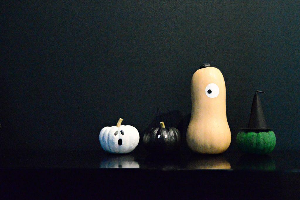 mini pumpkin painting ideas