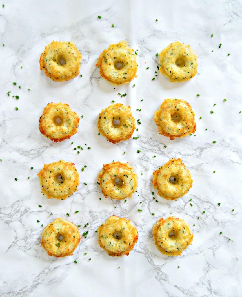 savoury cheese doughnuts
