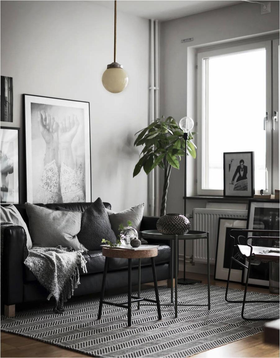 scandinavian style small living room ideas