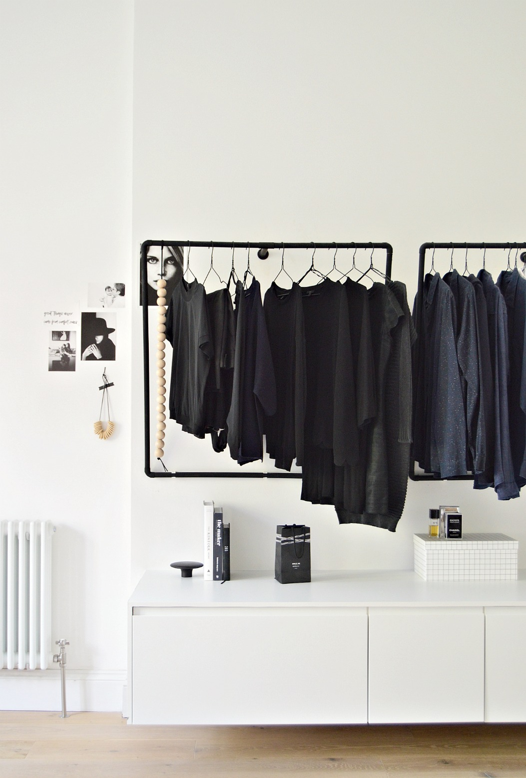 how to make an open wardrobe for your bedroom