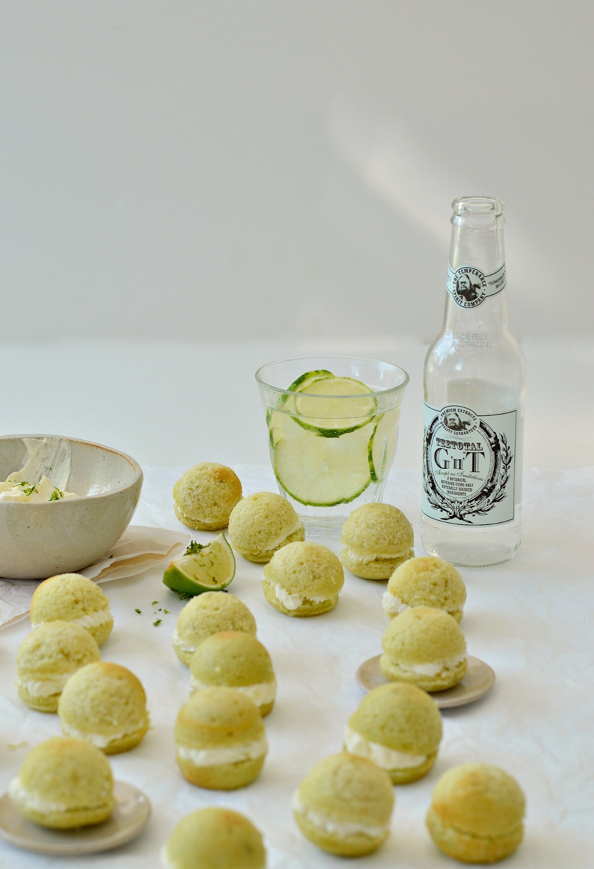 alcohol free gin and tonic cake