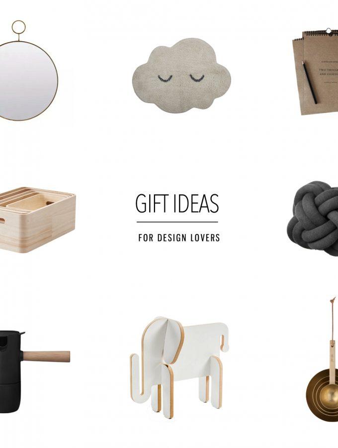 Christmas gift ideas for design lovers