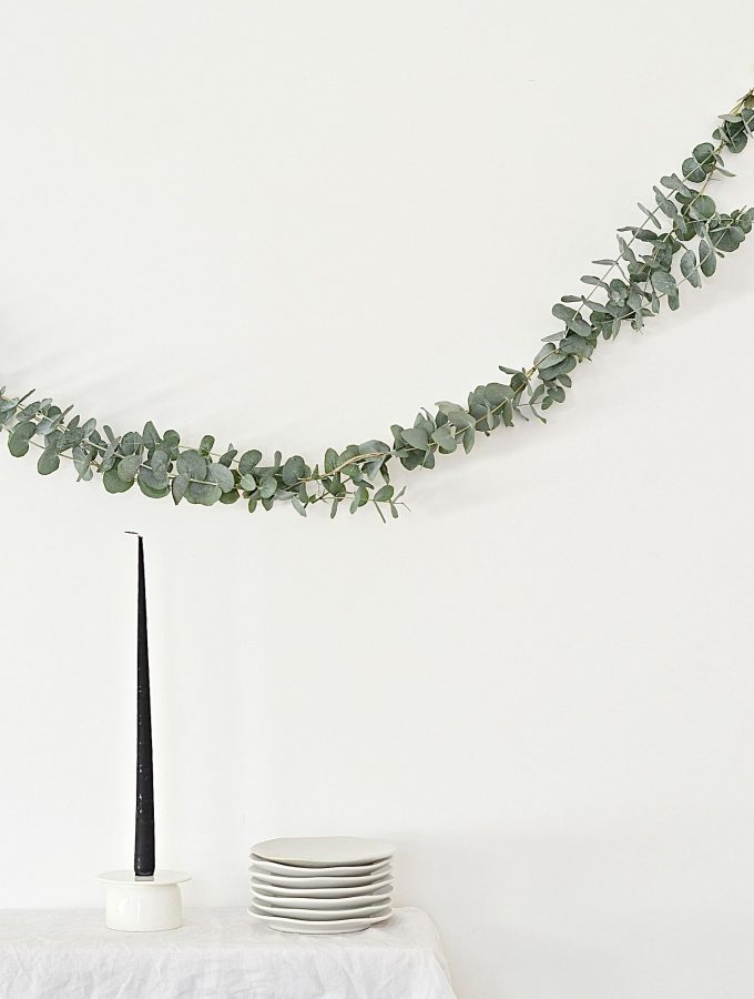 DIY Eucalyptus garland (that'll make your home smell amazing)