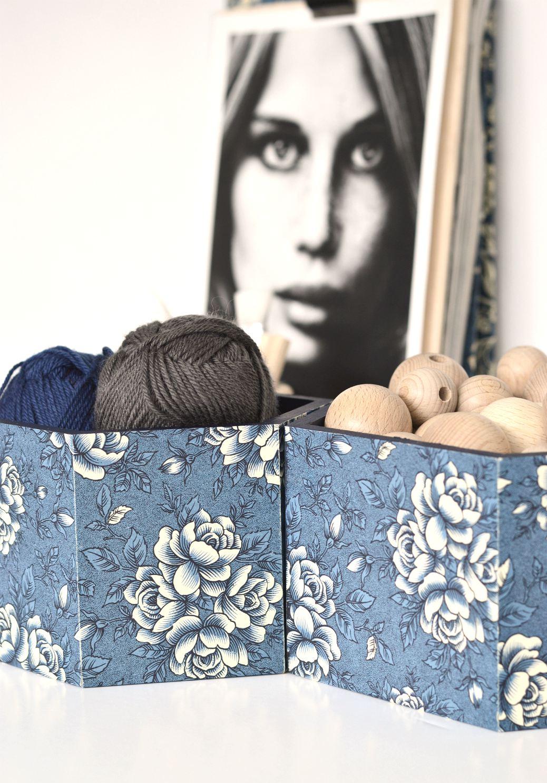 diy craft storage boxes