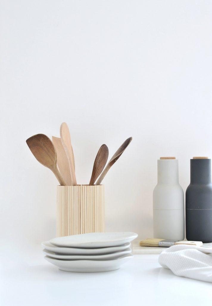 Ikea Hack Diy Wooden Utensil Holder For Under A Tenner Diy Home Decor Your Diy Family