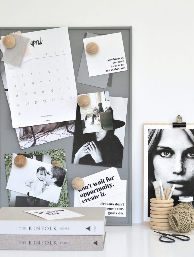 Pin it! With these minimal DIY push pins