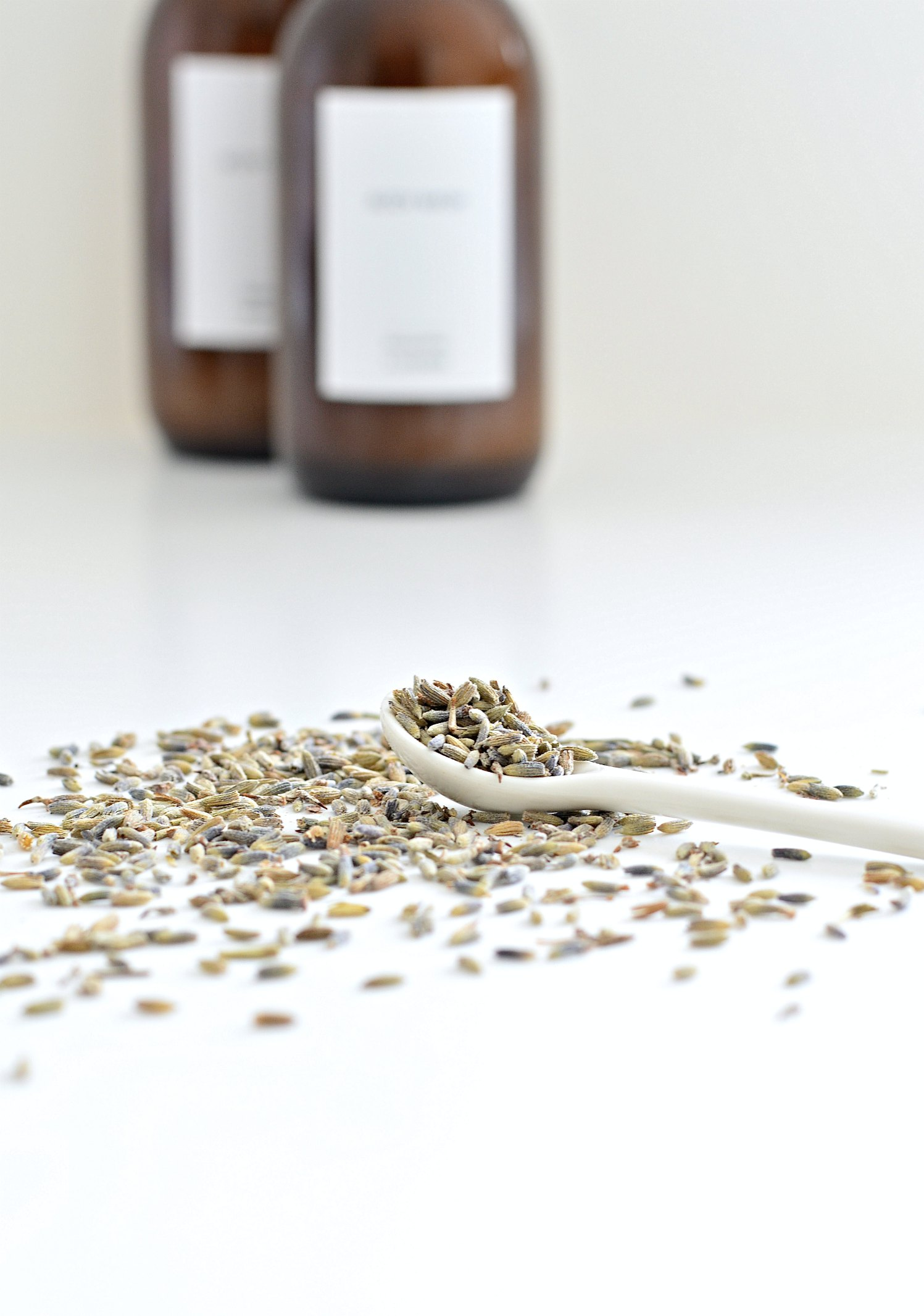 homemade body wash lavender essential oil