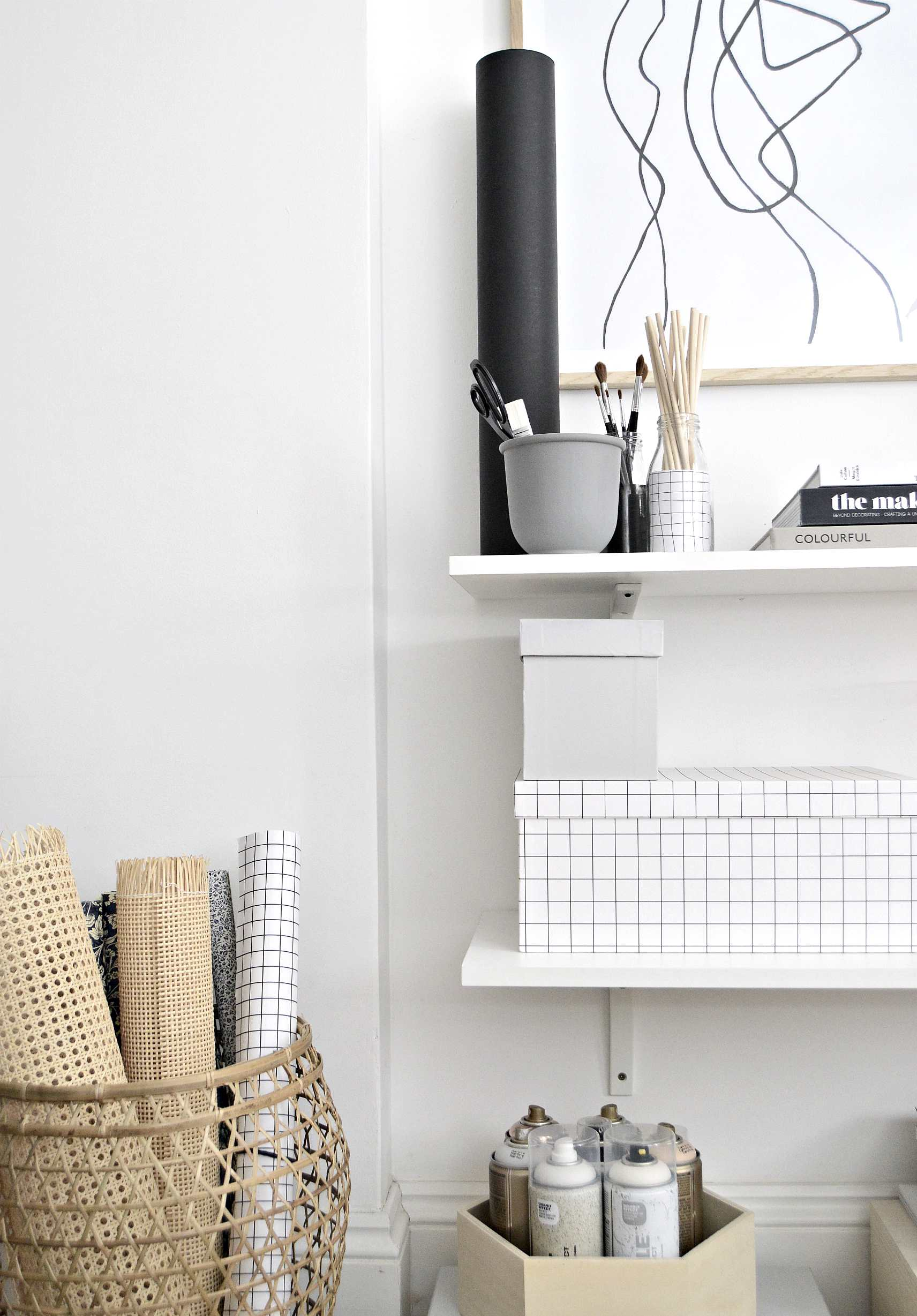 small home office organisation ideas