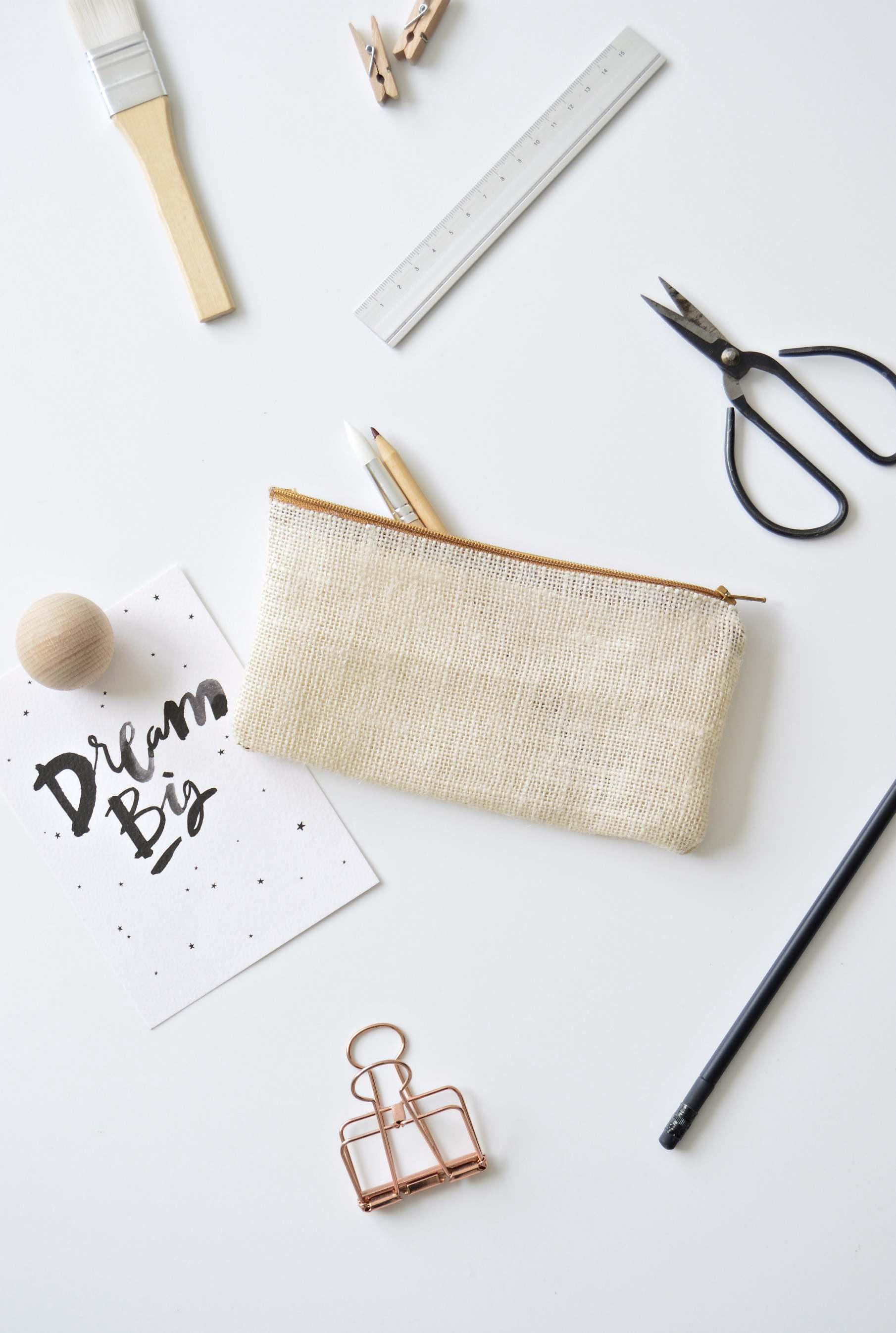 diy no sew pencil case