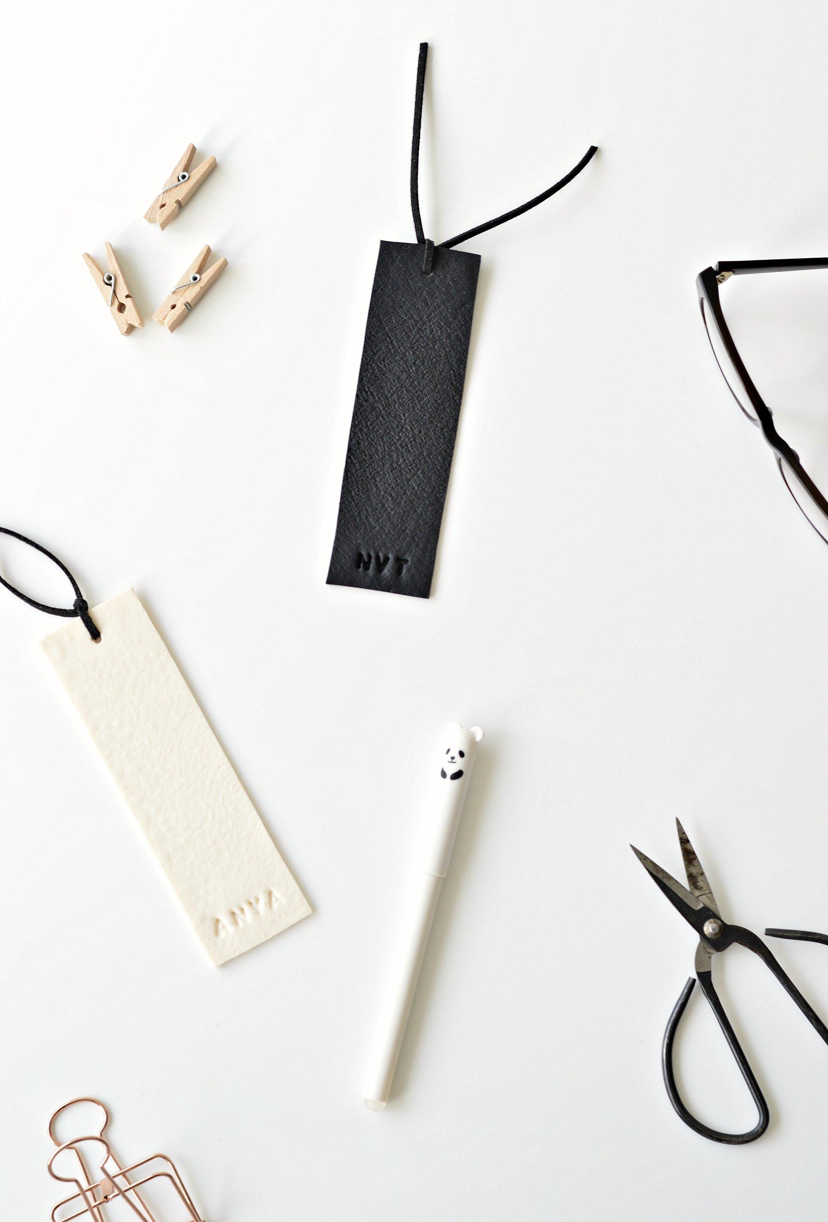 DIY personalised bookmarks