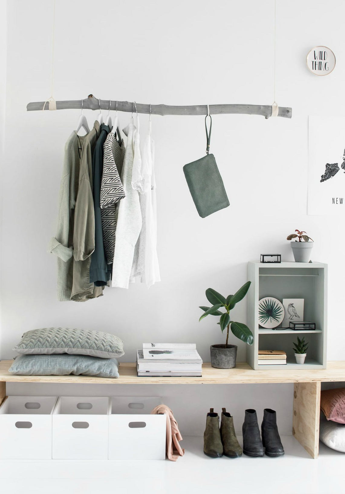 clothes storage ideas for small bedrooms