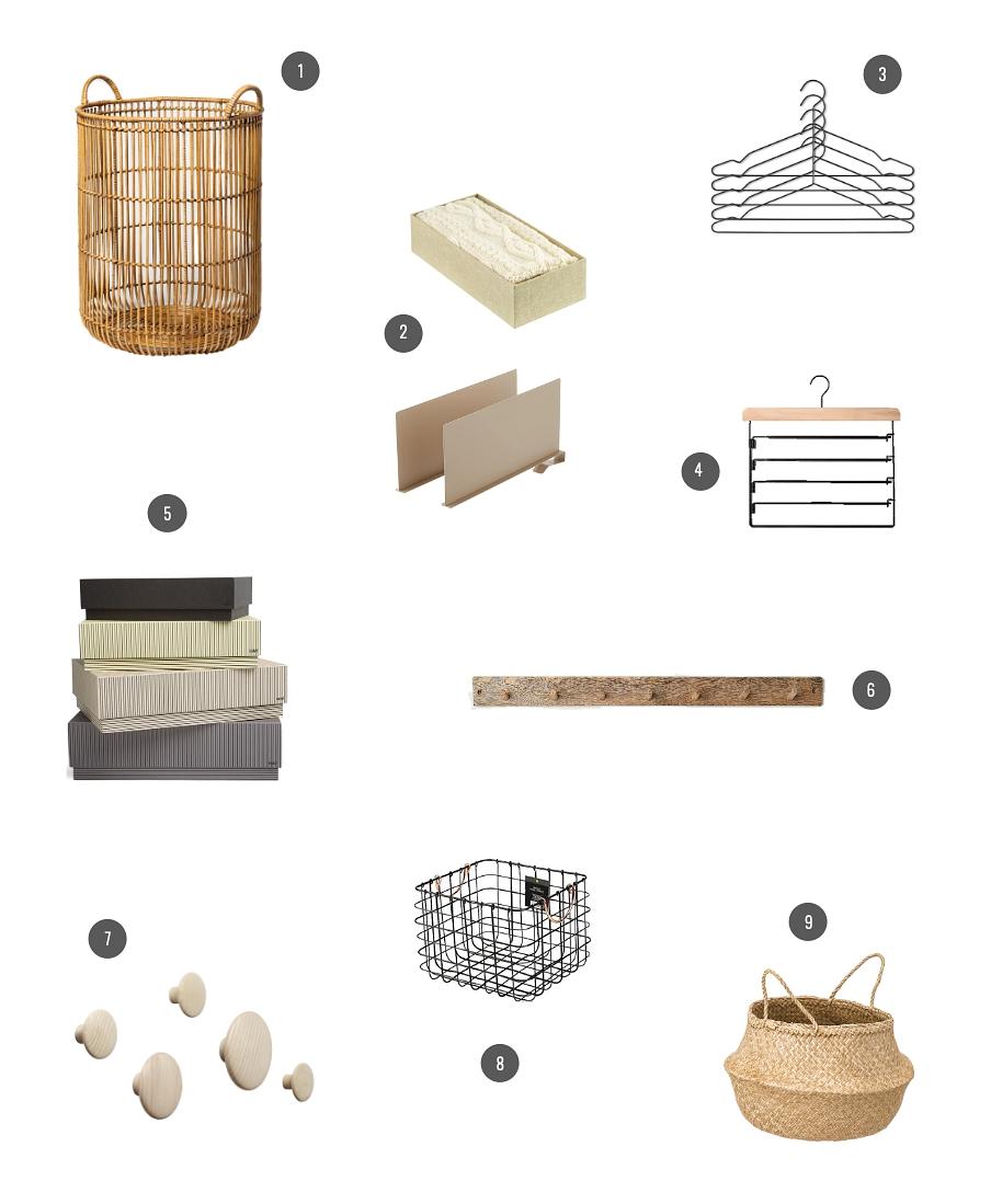 wardrobe storage accessories