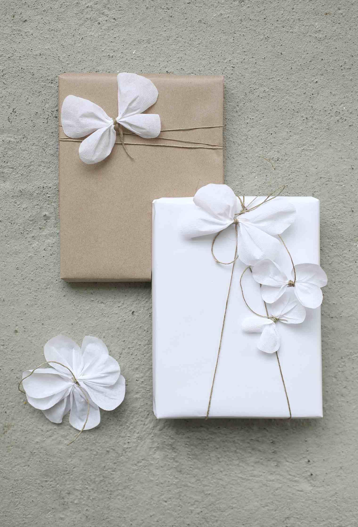 flower gift wrap