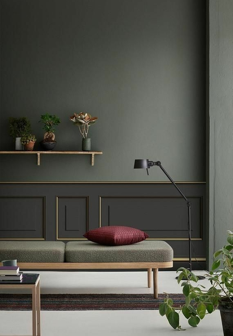 how to match wall color with furniture