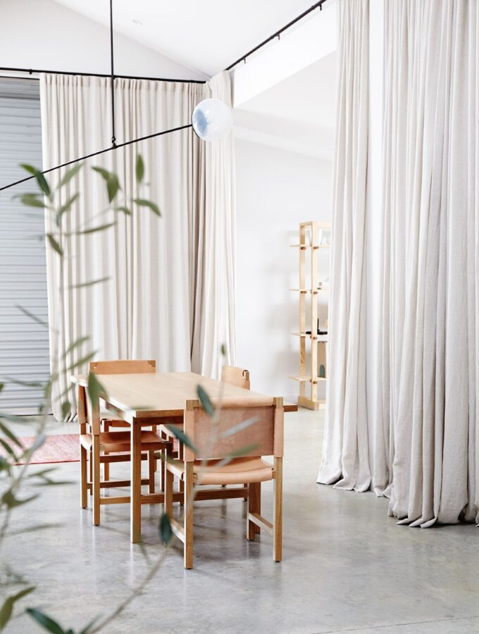 Little decor ideas for big impact: creative ways to hang curtains as decor