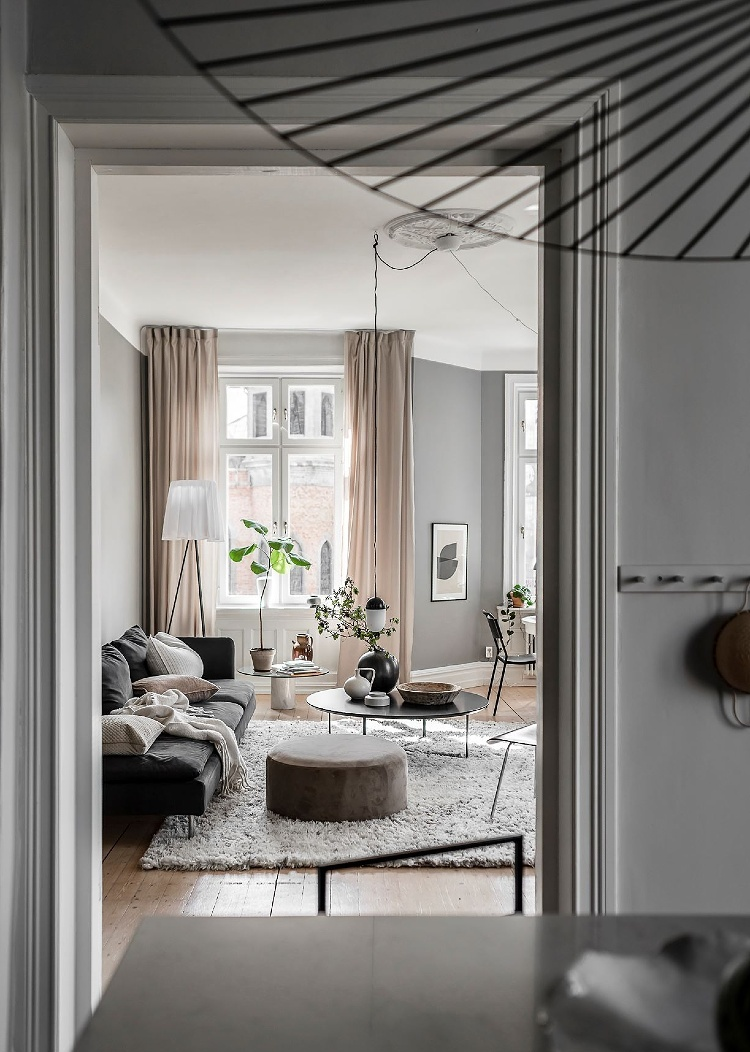 how to decorate with grey and beige