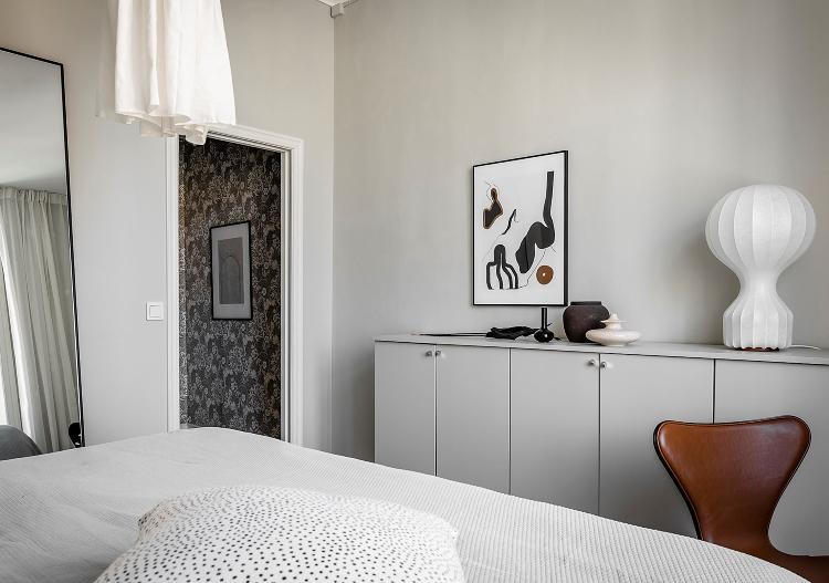 Scandinavian bedroom lighting ideas