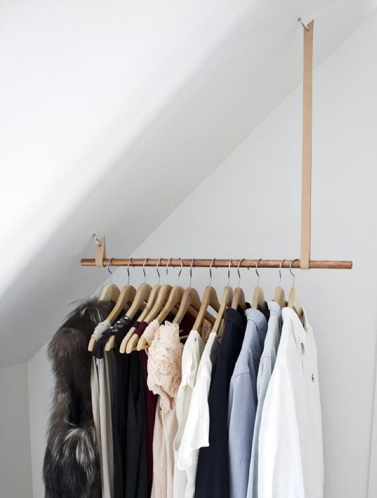 how to make a clothes rail