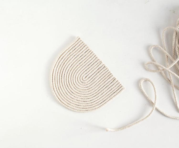 DIY rope trivet