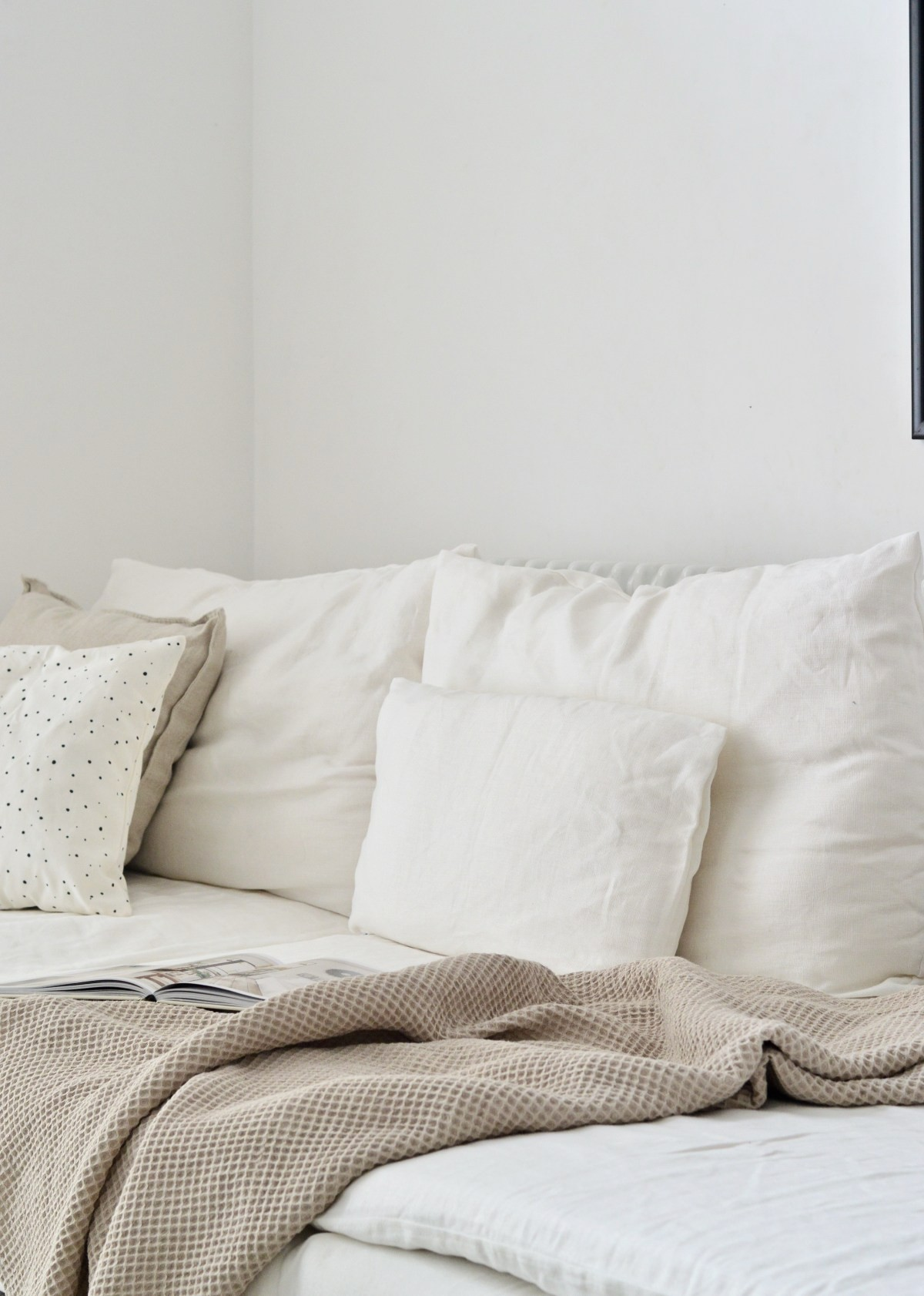 linen covers for Ikea couch