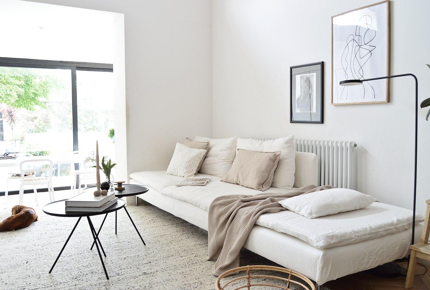 make an old sofa look new