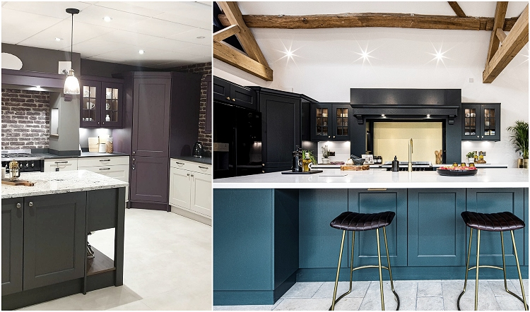 used kitchen before and after