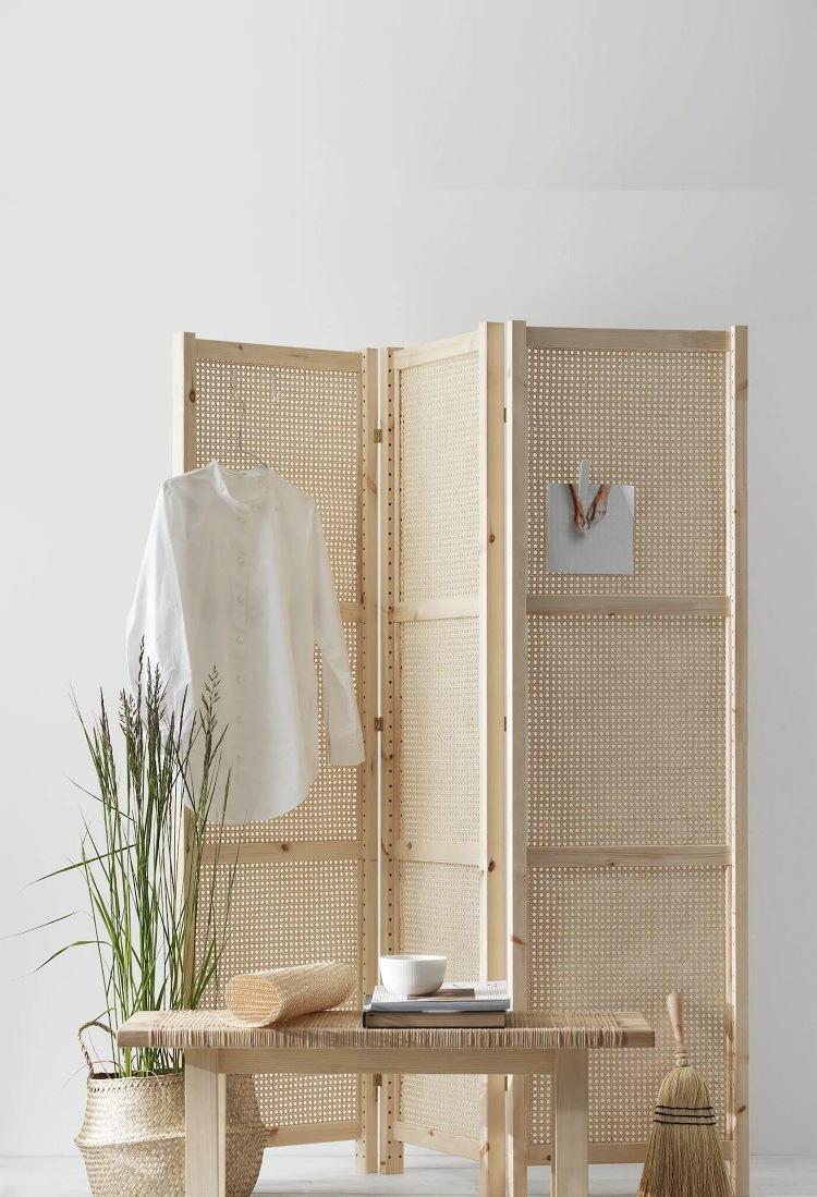 how to make a cane room divider